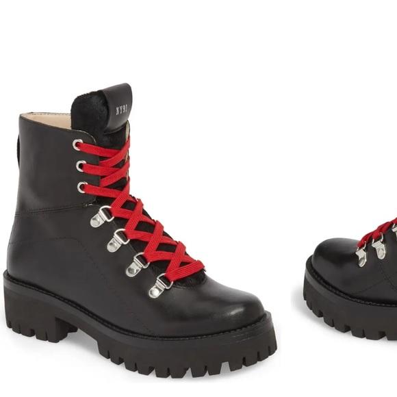 Steve Madden Boom Hiker Boot Black Size